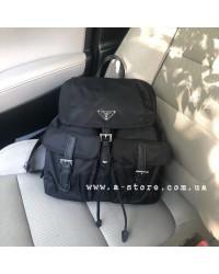 Рюкзак в стиле Prada ручки с лого
