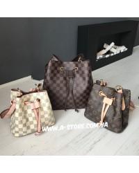 Сумка -мешок в стиле Louis Vuitton в наличии мини-размер