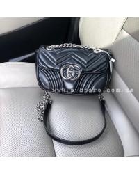 Модная сумка копия Gucci Marmont. Мини размер
