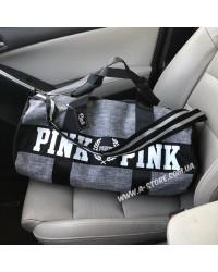 Cпортивная сумка Pink в стиле VS. 3 цвета