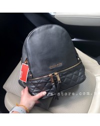 Рюкзак копия Michael Kors Rhea стеганный. Эко-кожа