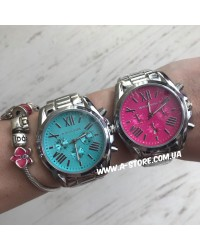 Часы Mich@el Kors с римскими цифрами. Цвета в ассортименте
