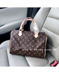 Сумка в стиле Louis Vuitton Speedy монограмм 30 см