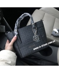 Сумка копия Guess Delaney crossbody monogram. 2 цвета