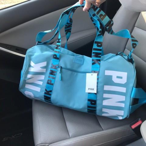 Новая модель. Cпортивная сумка копия Victoria's secret Pink. 2 цвета
