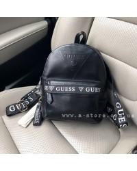 Рюкзак копия Guess ручки с лого. Новая коллекция