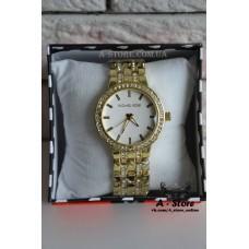 Модные часы MKors с календарем. Стразы. Эксклюзив