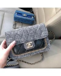 Идеальная тканевая сумка. Серый цвет