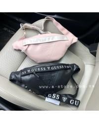 Модная сумка на пояс -бананка копия Guess. 2 цвета