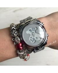 Электронные часы копия Tous. В наличии 2 цвета